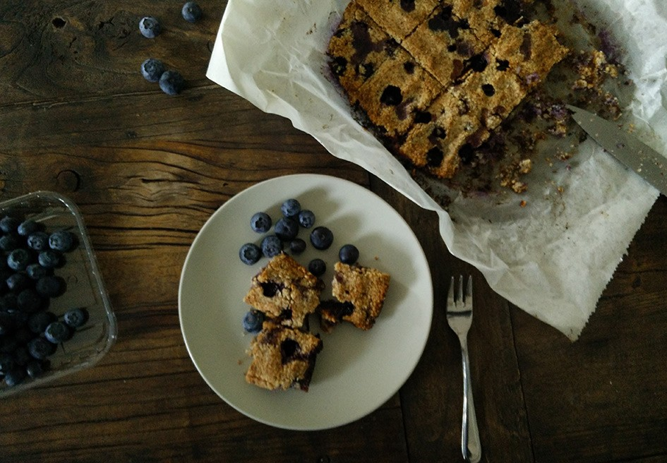 Paleo Blueberry Blaubeer Scones