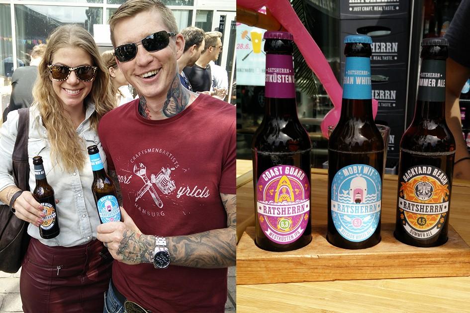 Sommer Biere von Ratsherrn