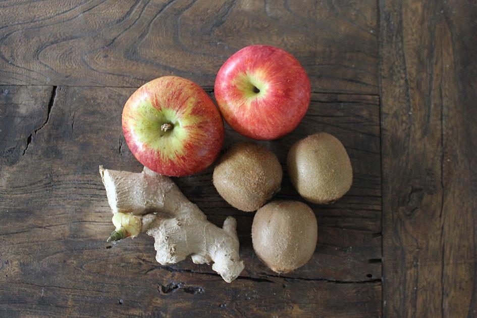 Zutaten für den Vitaminbomben Smoothie