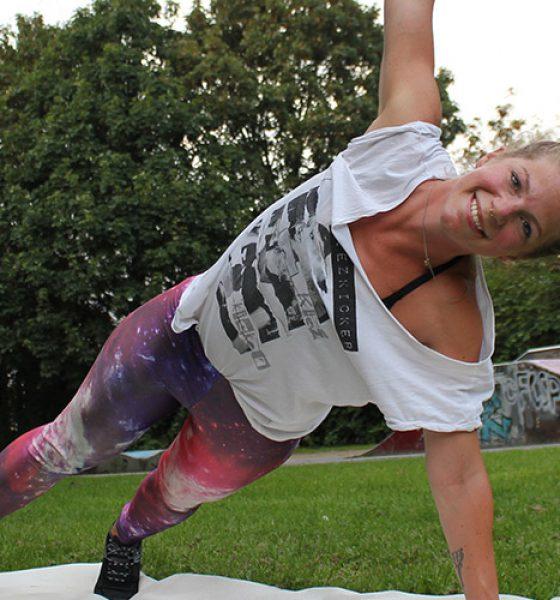 5 Exercises für einen flachen Bauch