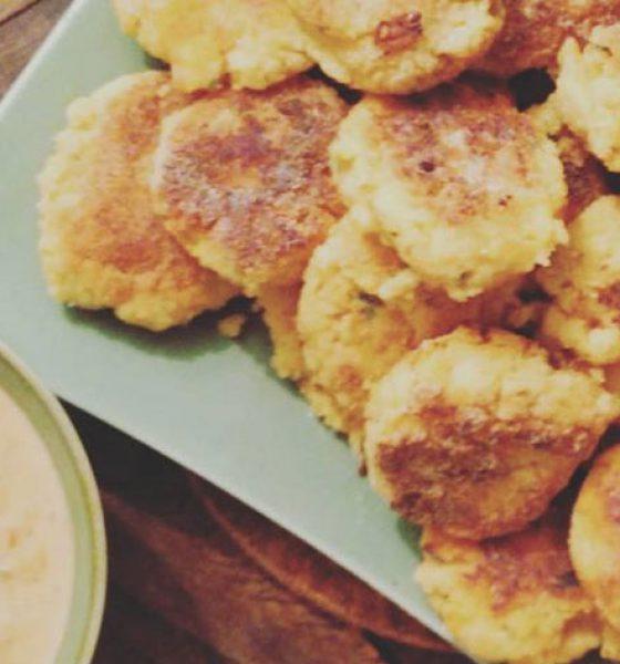 Falafel mit Kichererbsenmehl (glutenfrei)