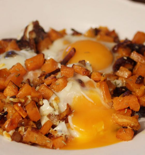 PALEO Frühstücks Süßkartoffeln
