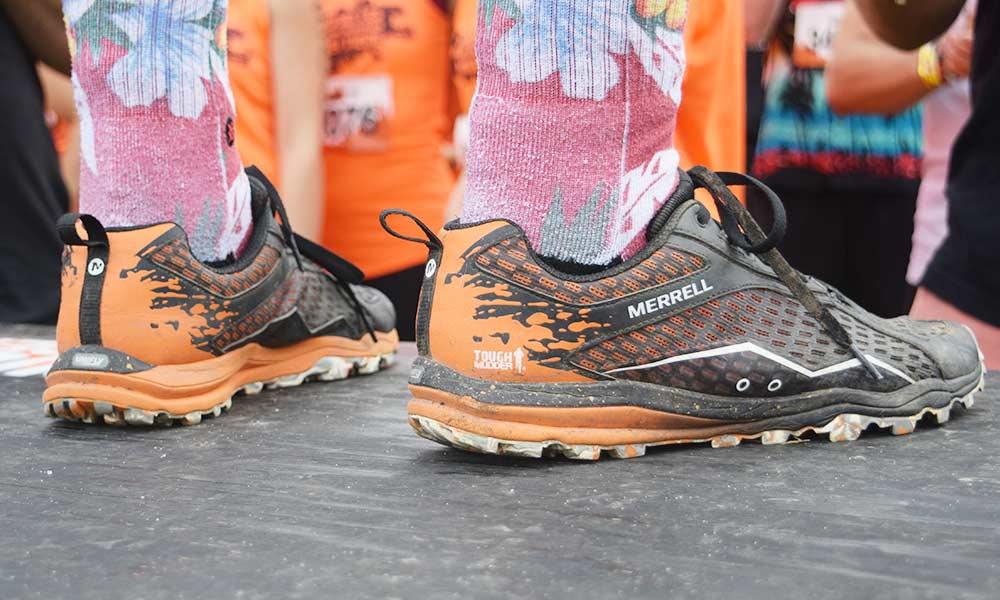 Das passende Schuhwerk von Merrell beim Tough Mudder Norddeutschland 2017 – Fitnessblog Coco Collmann