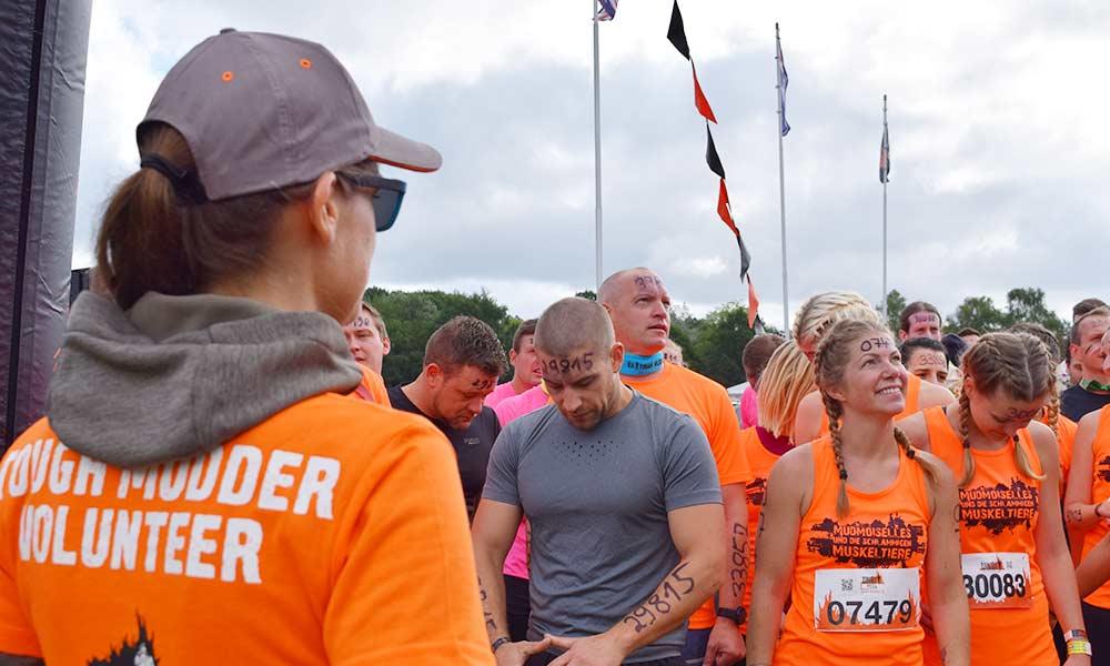 Kurz vorm Start beim Tough Mudder Norddeutschland 2017 – Fitnessblog Coco Collmann