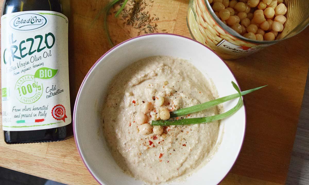 leckerer veganer Hummus – Fitness Blog Coco Collmann