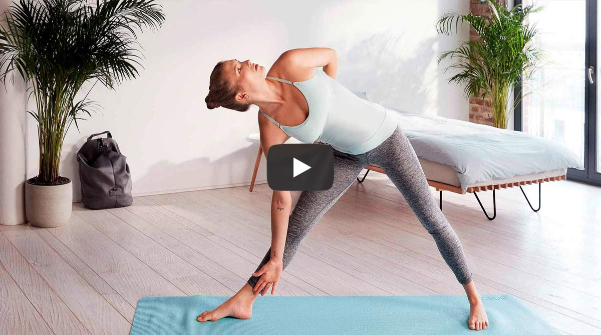 Yoga-Video mit Annie Clarke by Zalando