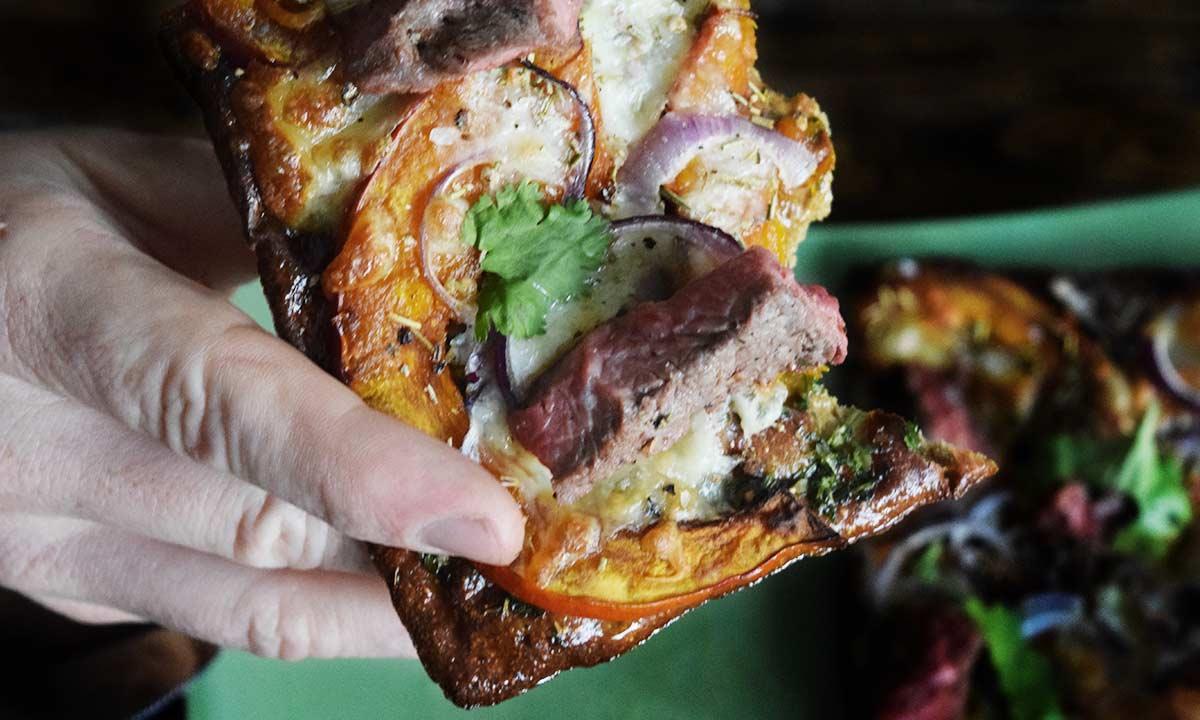 Lizza Pizza paleo Food Blog Coco Collmann