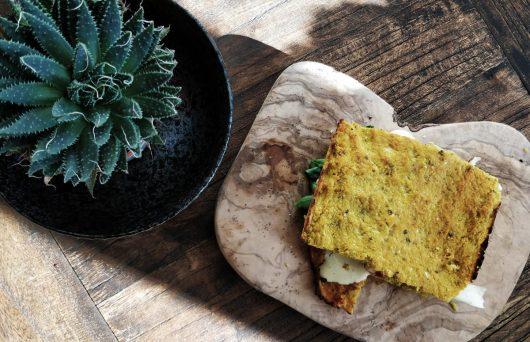 Low Carb Paleo Flatbread mit Blumenkohl – Foodblog Coco Collmann Rezept