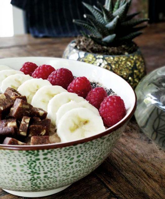 Porridge Rezept mit Orthomol Prepare und Protein Pulver